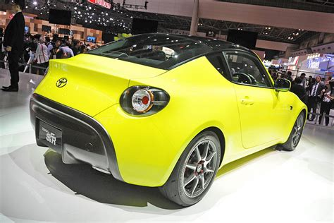 Toyota's Sfr Coupe Concept Makes Its First Live