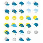 Weather Icons Icon Transparent Forecasting Symbols Pack