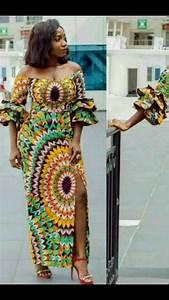 20 jolies modeles de robes en pagne silence brise With les jolies robes en pagne