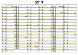 Kostenlose kalendervorlagen 2016 office lernencom for Halbjahreskalender