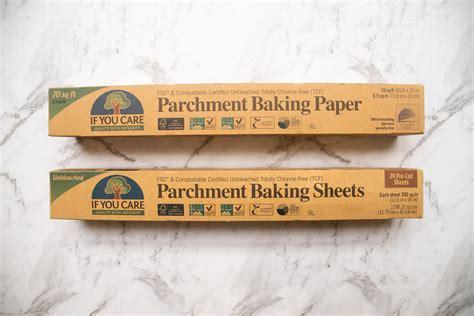 parchment baking care compostable