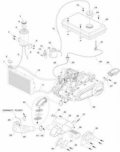 Joyner Sand Viper 250cc - 2008-9 - Engine Assembly - Joyner Sand Viper 250cc - 2008-9