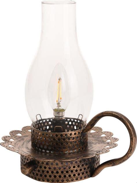 vintage copper metal oil lamp design dimmable led lantern
