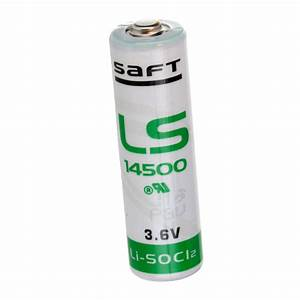 Lithium Aa Batterie : saft ls14500 aa battery 3 6v 2600mah lithium replaces maxell tadiran and more ebay ~ Orissabook.com Haus und Dekorationen