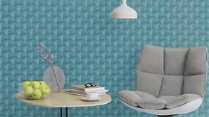 Home Style Tapete : tapete vlies waben 3d blau rasch deco style 504651 ~ A.2002-acura-tl-radio.info Haus und Dekorationen