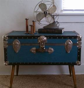 steamer trunks modded to coffee tables 39 pinterest With trunk like coffee table