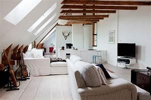 Appartement Sous Comble : duplex sous les toits ~ Dallasstarsshop.com Idées de Décoration