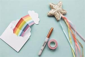 Geburtstagseinladung Selber Basteln : kostenlose druckvorlage einladungskarte regenbogen printables pinterest selber machen und ~ Markanthonyermac.com Haus und Dekorationen