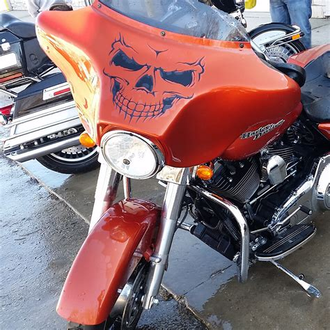 Davidson Vinyl Graphics motorcycle glide with harley davidson vinyl graphic
