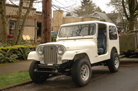 old jeep old parked cars 1984 jeep cj7