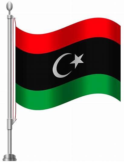 Flag Libya Clipart Clip 1945 Flags Bd