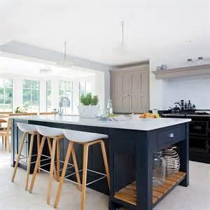 kitchen unit ideas modern kitchen with painted shaker units housetohome co uk
