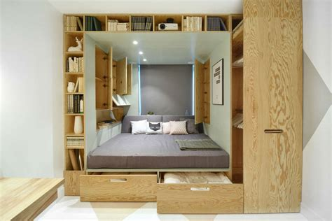 Stylish Bedroom Design For Teenager With Multifunctional