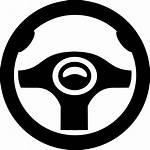 Steering Wheel Icon Clip Svg Drive Vector