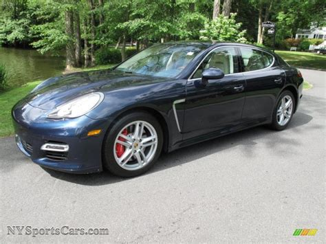porsche panamera dark blue 2010 porsche panamera turbo in dark blue metallic 090738