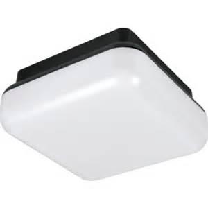 outdoor fluorescent square ceiling fixture 26 watt black