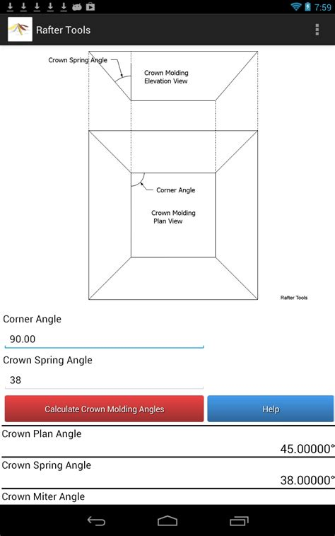 how to cut crown molding angles for kitchen cabinets crown molding tools for android calculator crown molding 9891