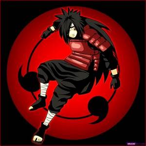 anime desktop wallpapers: Uchiha Madara Mangekyou Sharingan