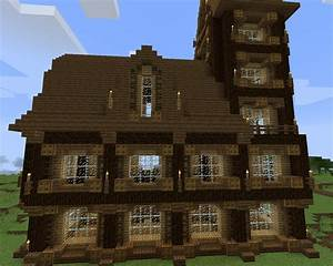 Minecraft Structure Minecraft Manoir Mdival En Angle