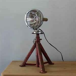 Lampe Industrielle A Poser : lampe industrielle phare ~ Teatrodelosmanantiales.com Idées de Décoration