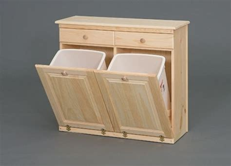 Cabinet Trash Can Holder by 25 Best Ideas About Wooden Trash Can Holder On