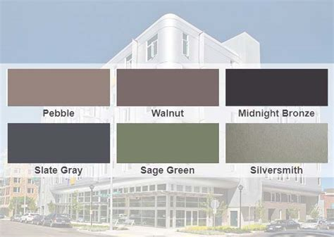 span color aep span launches new colors architectural metal wall
