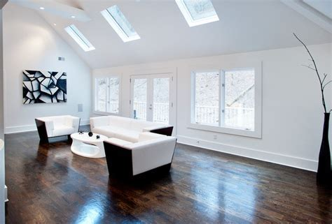 Modern and Plenty of White   Interiors By Color
