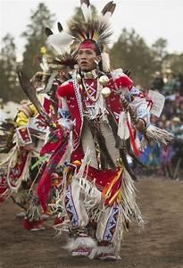 Navajo northern traditional dancer Brando Jack of White ...