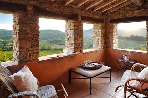 Col delle Noci Italian Villa balcony   Interior Design Ideas.