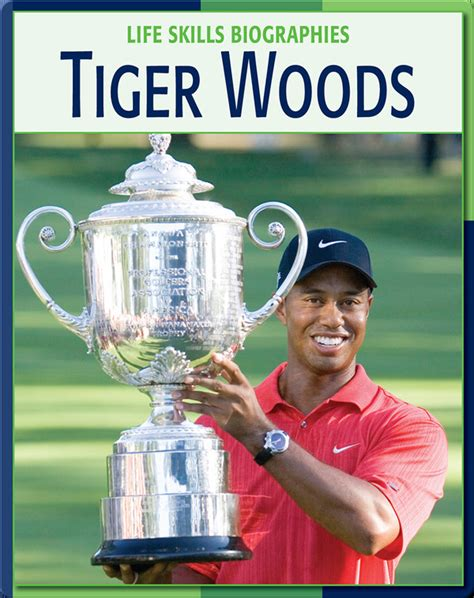 Life Skill Biographies: Tiger Woods Children's Book by ...
