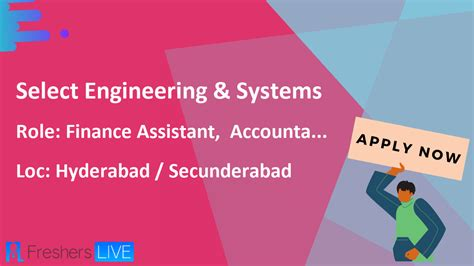 Select Engineering & Systems Accountant, Finance Assistant ...
