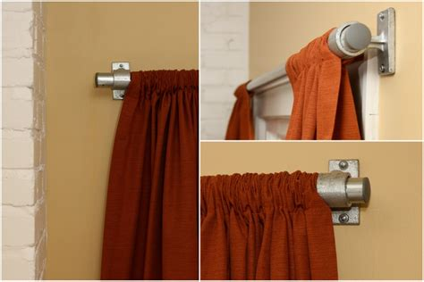 industrial style curtains industrial pipe curtain rods