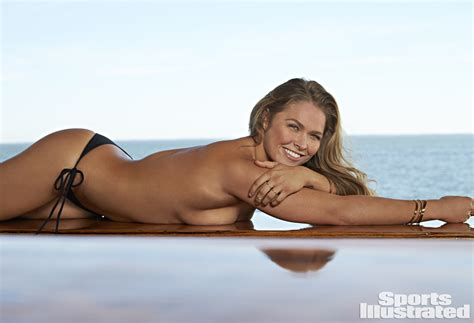 ronda rousey s 2015 sports illustrated swimsuit spread