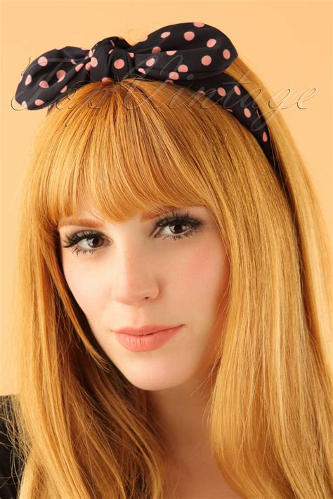 1950s Headband Hairstyle by Create Easy Vintage Hairstyles