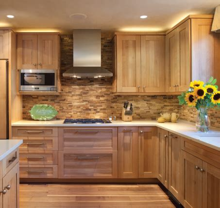 cuisine ceruse 15 contemporary wooden kitchen cabinets hickory cabinets