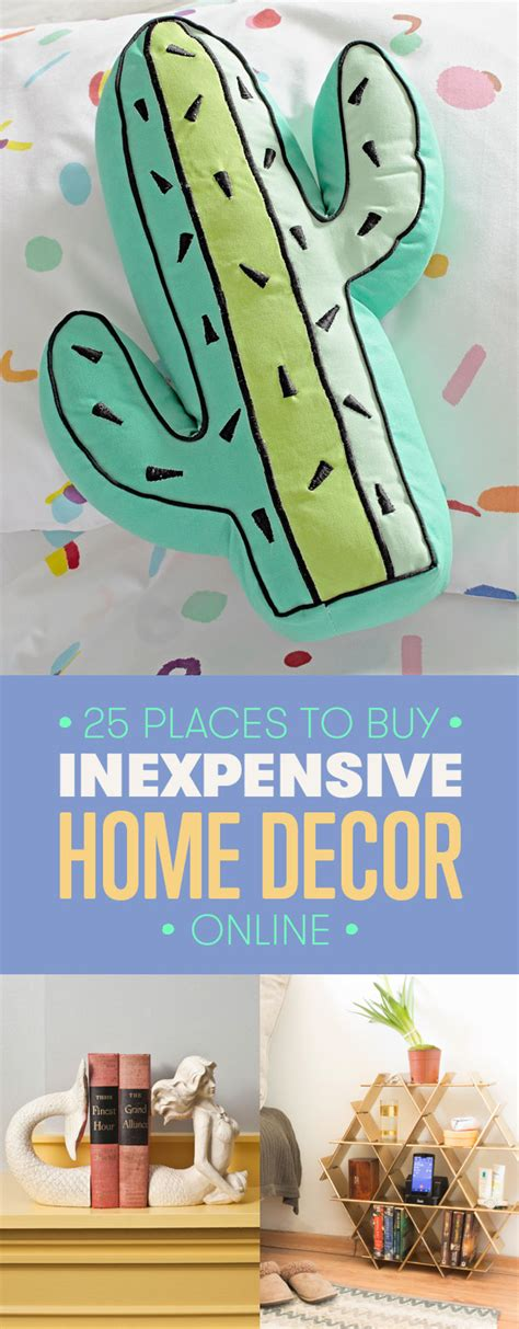 cheap places to buy home decor 25 cheap places to shop for home decor