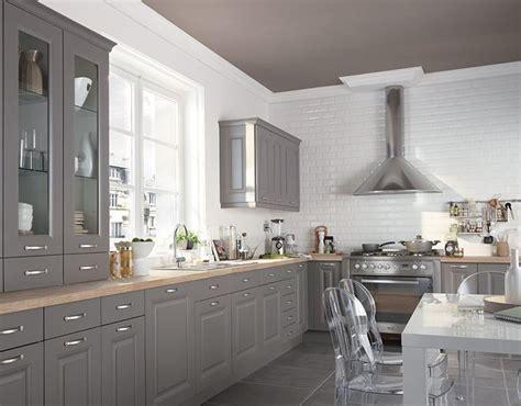 cuisine ouverte grise les 25 meilleures idées de la catégorie cuisines grises