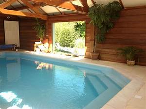 maison avec piscine couverte et chauffeesauna petit With vacances avec piscine couverte chauffee