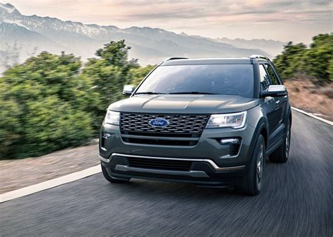 ford explorer redesign great updates  suv update
