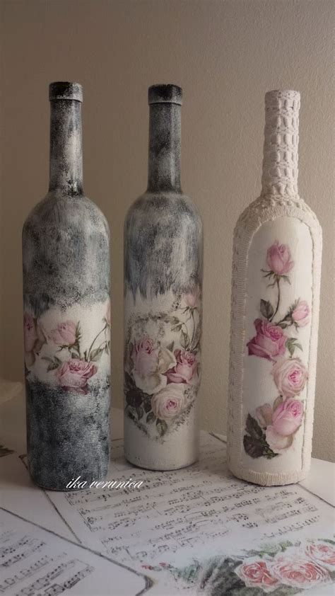 Decorate Wine Bottles - 1000 ideas about decorated wine bottles on