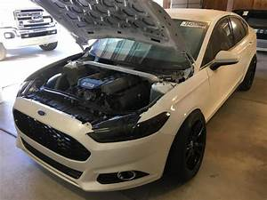 2016 Ford Fusion With A Coyote V8 And Rwd Drivetrain