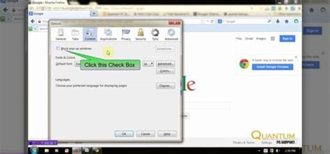 pop up blocker for android chrome how to block pop up in firefox chrome and