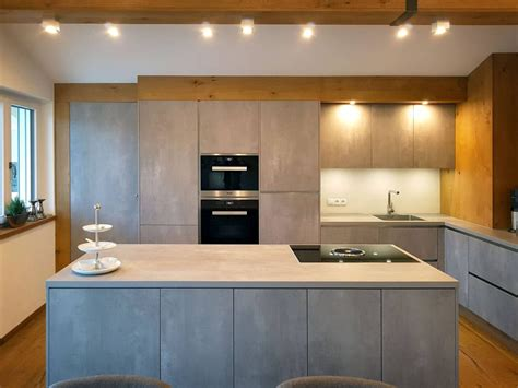 Küchen In Betonoptik by Innenarchitektur M Studio Reiter Individuelle Raumkonzepte