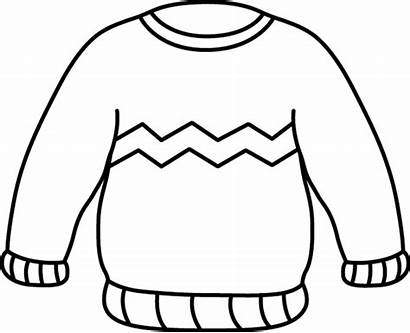 Sweater Zig Zag Clip Outline Clothing Stripe