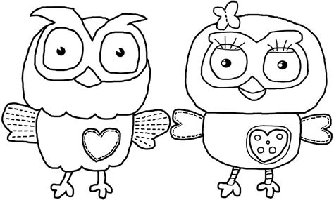 Fall Owl Coloring Pages Coloring Pages