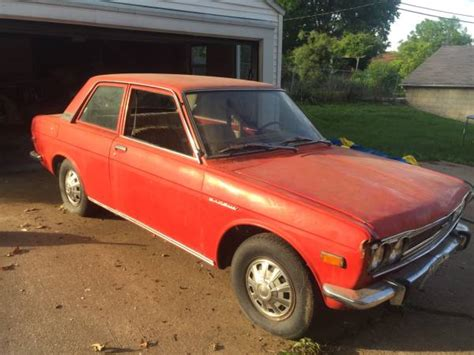 1972 Datsun 510 Sale by 70k Mile 1972 Datsun 510 2 Door Bring A Trailer