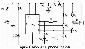 Mobile Cellphone Charger  U2013 Electronics Project