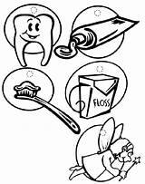 Coloring Dentist Bulk Sheets Bulkcolor sketch template