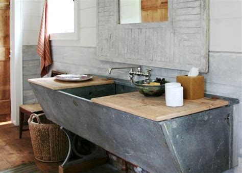 diy bathroom vanity crafted from old horse trough decoist