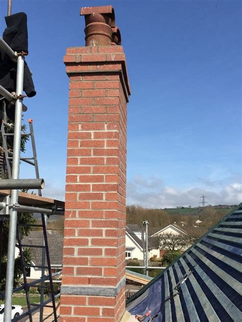 chimney rebuilding lead tray work ridge roofing